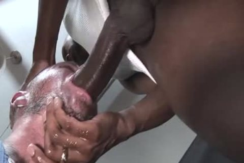 large cock gay blowjob With cumshot