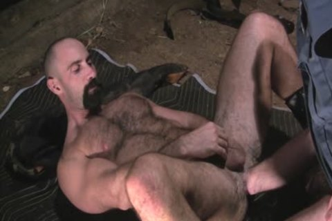 Two lascivious Policemen Fist fuck And Sodomise