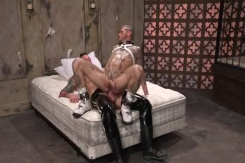 Muscle homo Fetish And sex cream flow