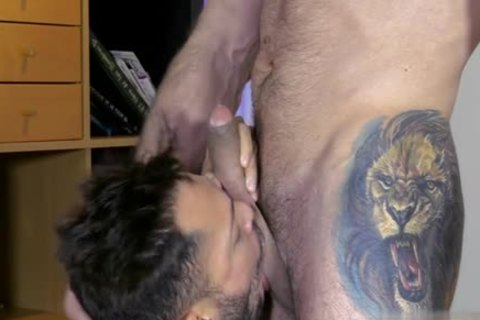 Muscle gay oral And sperm flow