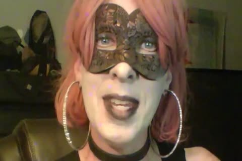 kinky Dancing Goth Cd cam Show Part two Of two