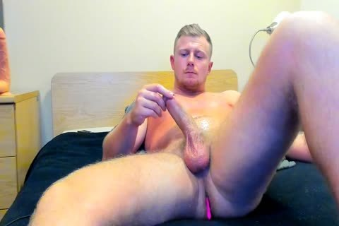 beefy British lad Jerks Off On web camera