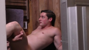 Sorry dad - Damien Stone with Clark Campbell large schlong Nail