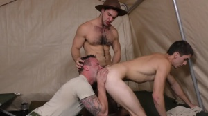 Drill The Sergeant - Damien Kyle and Tanner Tatum Hunk dril