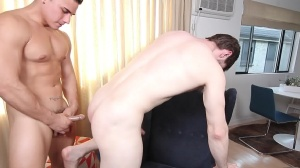 The Married Bottom - Dennis West & Topher Di Maggio butthole Hook up