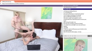 The Chat Room - Cameron Foster and Brandon Moore butthole pound