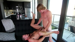 Morning Bliss - Mike De Marko with Tom Faulk butthole Hook up