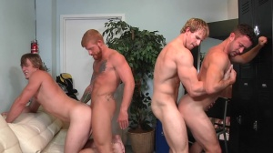 Swingers - Cameron Foster & Bennett Anthony butthole plow