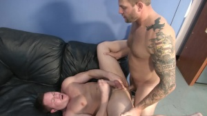 sex sperm Bank - Colby Jansen with Travis James anal job