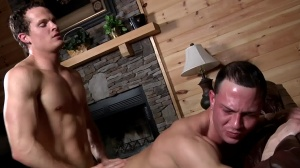 Aaron's First Time - Aaron Anderson and Liam Rosso pooper Hump
