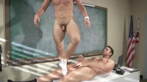 Hazing Bust - Rocco Reed and Joey Cooper anal Love