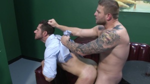 One Night merely - Dean Monroe with Colby Jansen anal slam
