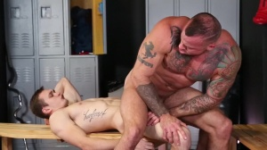 Confessions Of A Straight guy - Sean Duran with Jackson Traynor ass plow