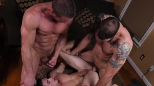 Coffee Time - Cliff Jensen, Damien Kyle anal stab