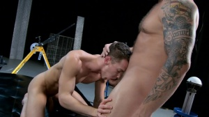The Gaytrix - Colby Jansen and Darius Ferdynand butthole job