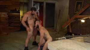 bareback Inquisition - sperm In throat Action