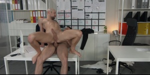Putting The ass In Assistant: - Paddy O'Brian and Drew Dixon anal nail