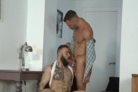 Manuel Skye & Max Hiltom plowing Each Other in nature's garb