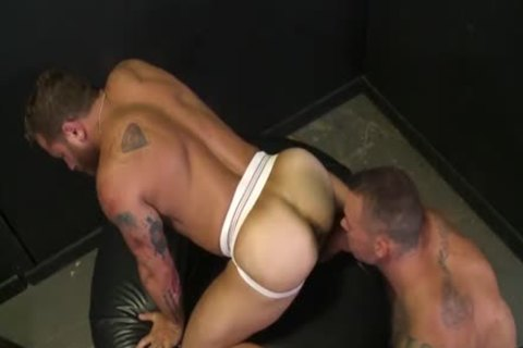 mad For The large cock With Sean Duran & Riley Mitchel