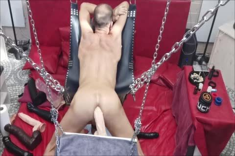 Sling Doggy With Swinging sextoy