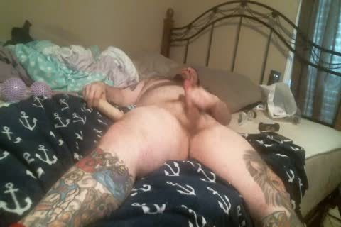 hairy chubby Bear long Solo Play Session