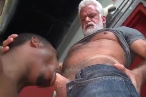 JAKE-SILVER DADDY THE BARBER plow HIS darksome gap