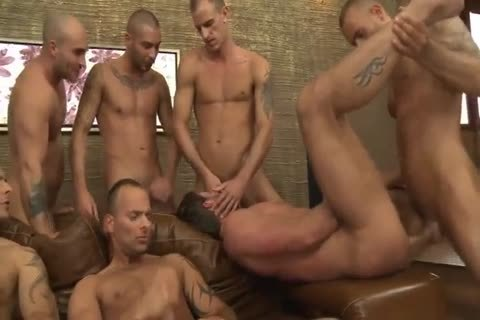 Toby Dutch acquires fucked In A Seven-guy unprotected group bunch-sex