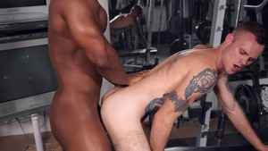 Bench Press My butt - Cody Smith  with DeAngelo Jackson American Hump