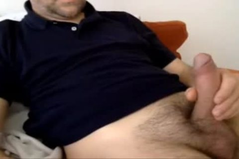 Serbian Married Daddy sperm Over His Shirt