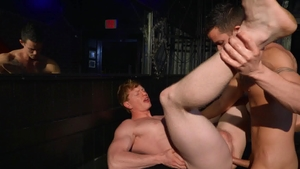 DrillMyHole - Twink Nic Sahara giving head for Kyle Connors
