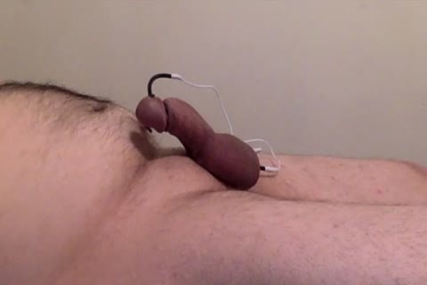 Shocking My penis And Teasing My nipples