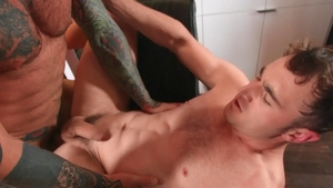 Drill My Hole - Markus Kage is really tattooed couple