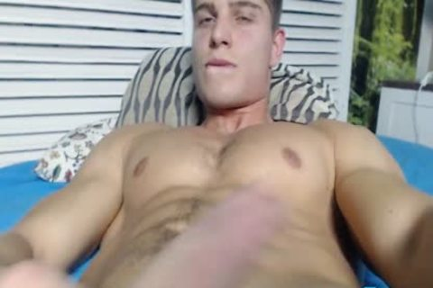 Alain Jarry On Flirt4Free - Sculpted Hunk With A perfect shlong Shows Why he'd Be A Great plow