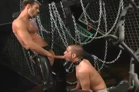 Michael Brandon bonks Brett Wolfe
