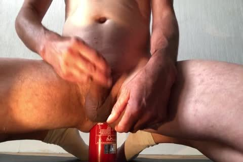 bewitching Insertion bizarre Bottle pooper With spunk flow