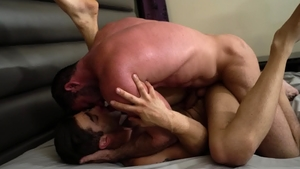 Icon Male: Latin Billy Santoro & Lucas Leon blowjob cum