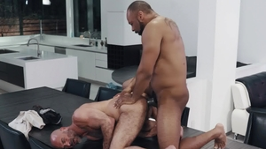 NoirMale.com: Athletic Ray Diesel reality rimjob in office