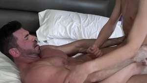 IconMale: Muscled Billy Santoro DILF fucked anal porn