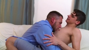 Icon Male: Hans Berlin together with Kory Houston dick sucking