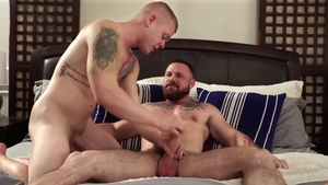 IconMale - Mitch Vaughn really likes raw sex