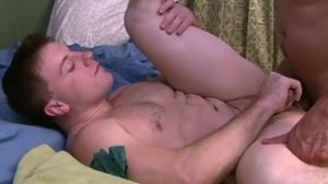 IconMale - Nailed rough amongst hairy gay Andrew Fitch