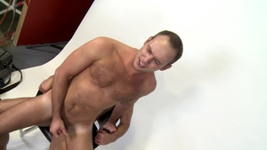 ExtraBigDicks: Gay Devin Adams jerking uncut cock