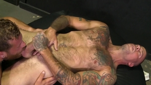 Extra Big Dicks - Muscled gay Riley Mitchel likes nailing