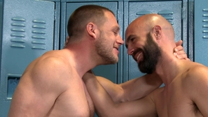 MenOver30: Athletic nice big dick Lex Ryan throat fuck