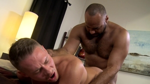 MenOver30.com: Hairy couple Ray Diesel goes for the best sex