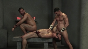 RagingStallion - Bodybuilder Bruno Bernal masturbation