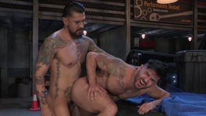 HotHouse.com: Boomer Banks ass fingering sex scene