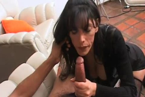 yummy tgirl acquires a milky load on her gigantic love muffins